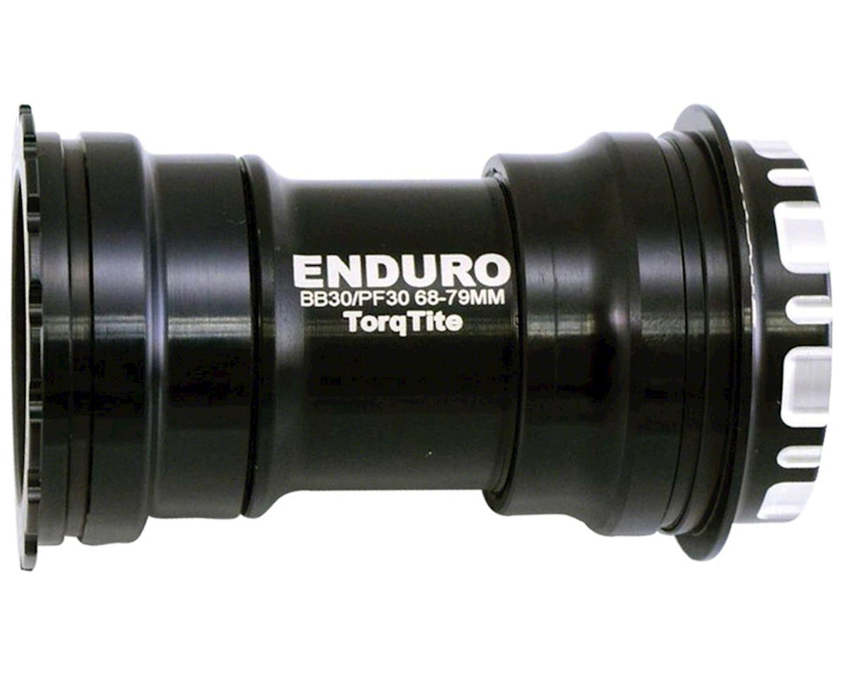 Enduro TorqTite Bottom Bracket: BBright to 24mm, Angular Contact Stainless Steel