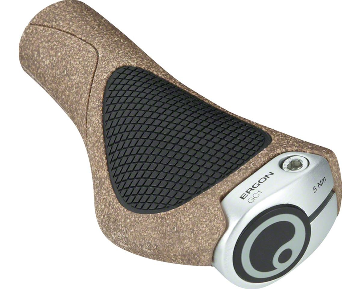 Ergon GC1 BioKork Grips (Black/Tan)