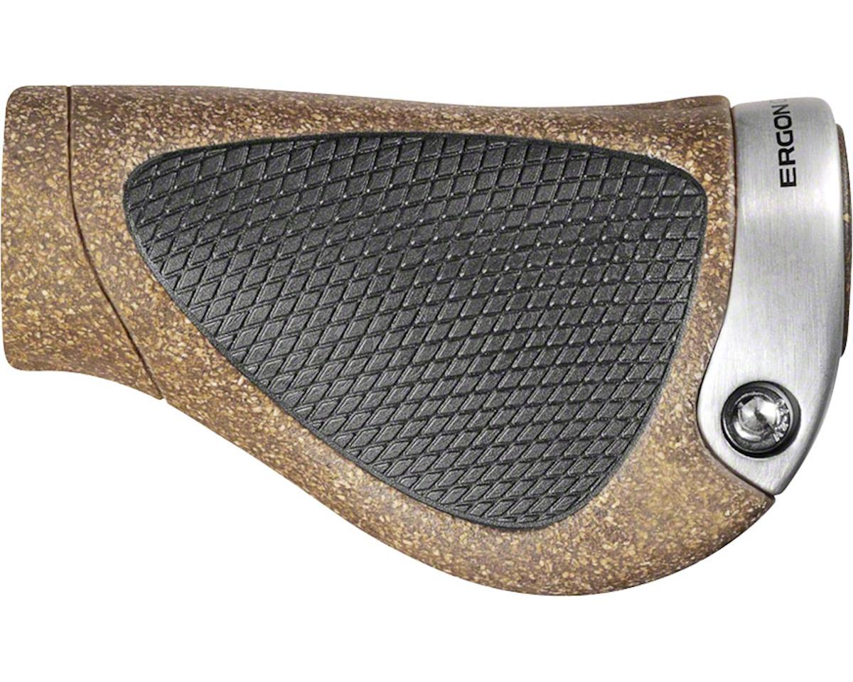 Ergon GP1 BioKork Gripshift (Black/Tan) (L)