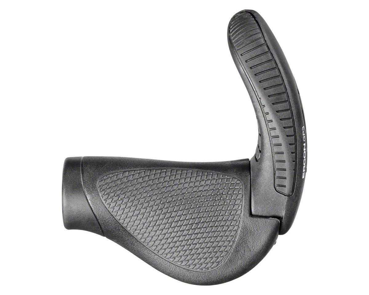 Ergon GP3-L  Gripshift (Large) (Black/Gray)
