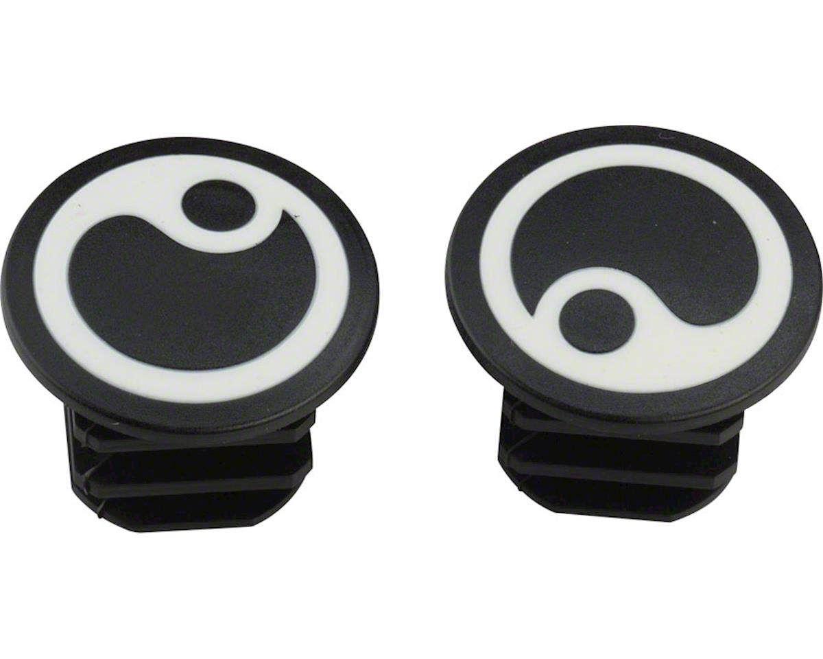 Ergon GP1 White Logo Bar Plugs