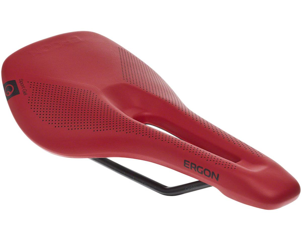 Ergon SR Sport Gel Womens Saddle Small/Medium, Berry + Tape