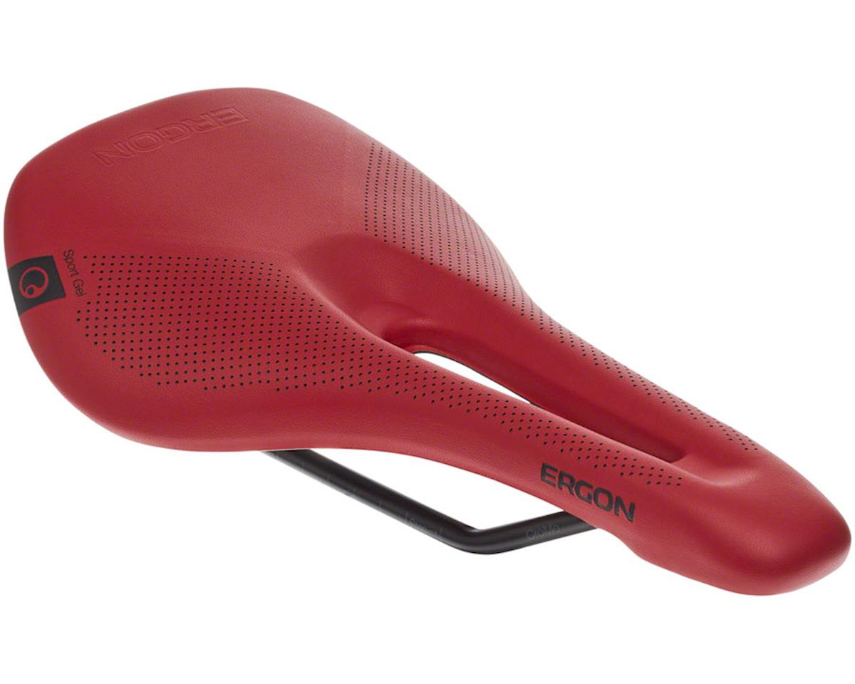 Ergon SR Sport Gel Saddle - Chromoly, Berry, Women's, Medium/Large