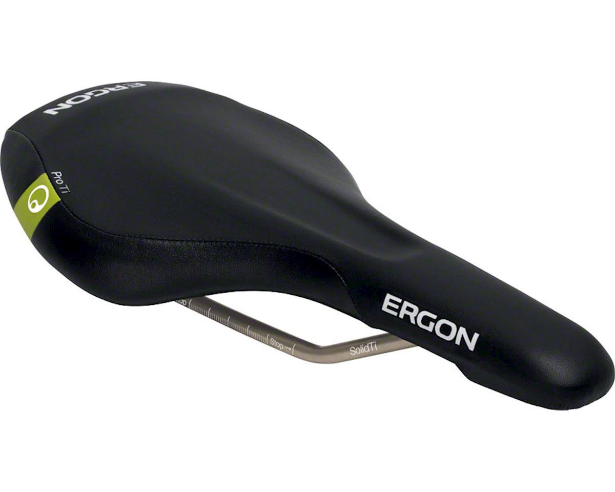 Ergon SME3-S Pro Titanium Saddle (Black)