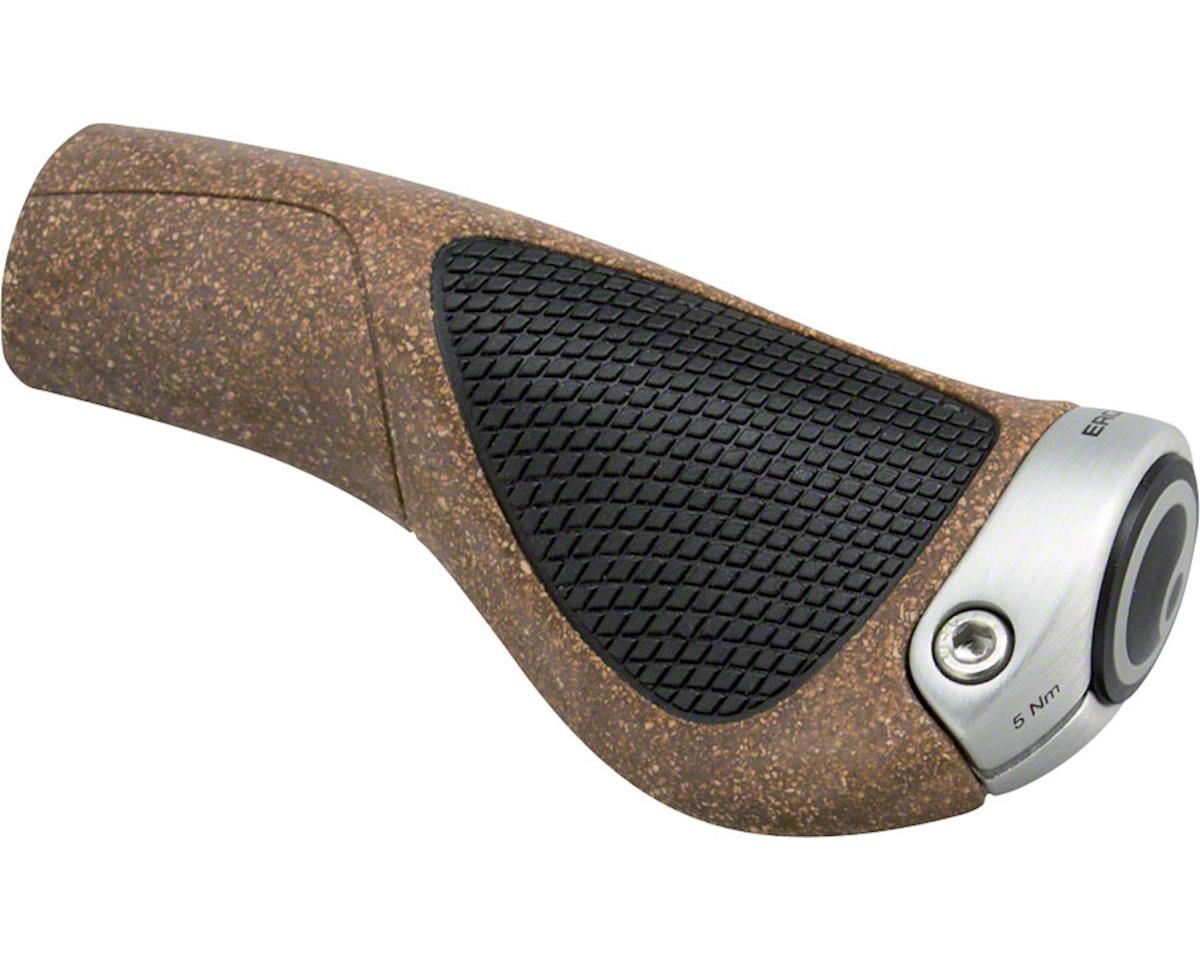 Ergon GP1 BioKork Grips (Black/Tan) (S)