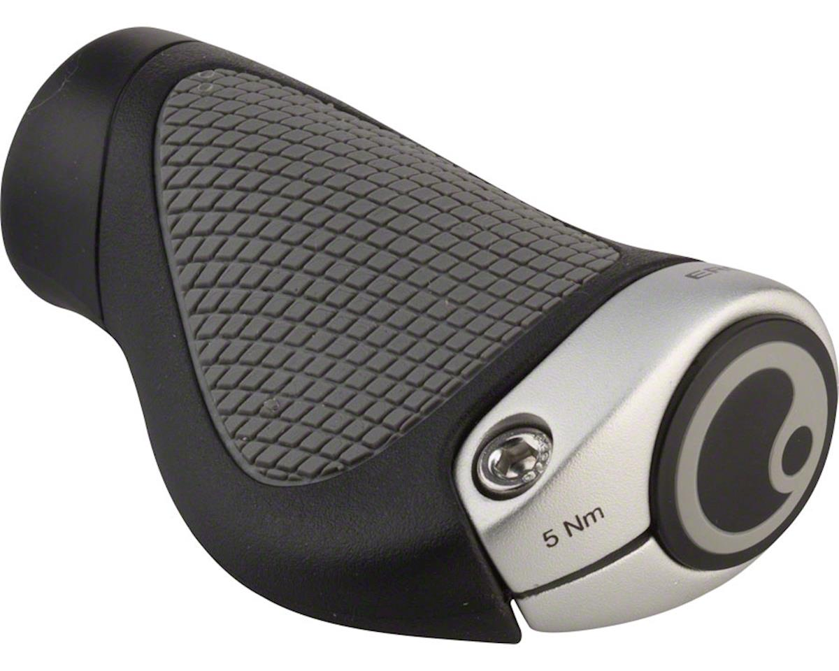 Ergon GP1 Gripshift Grips (Black/Gray) (S)