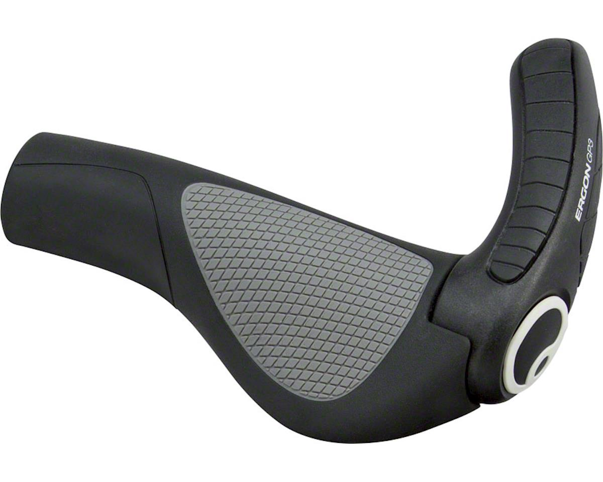 Ergon GP3 Grips (Black/Gray) (S)