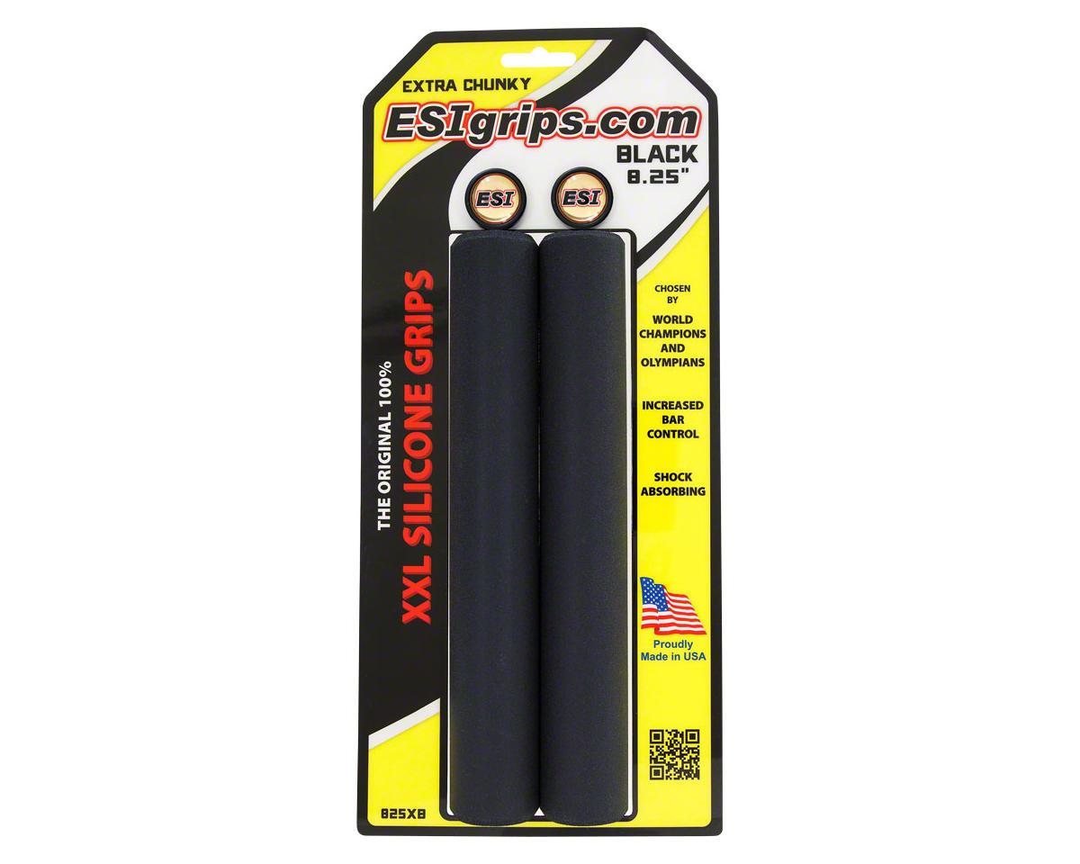 """ESI Grips ESI XXL 8.25"""" Extra Chunky Grips (Black)"""