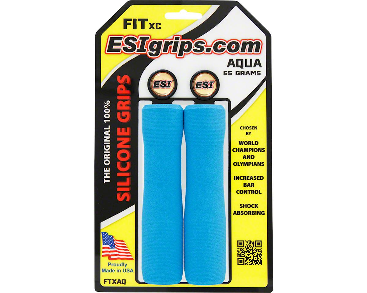 Esi Grips ESI FIT XC Grips (Aqua)