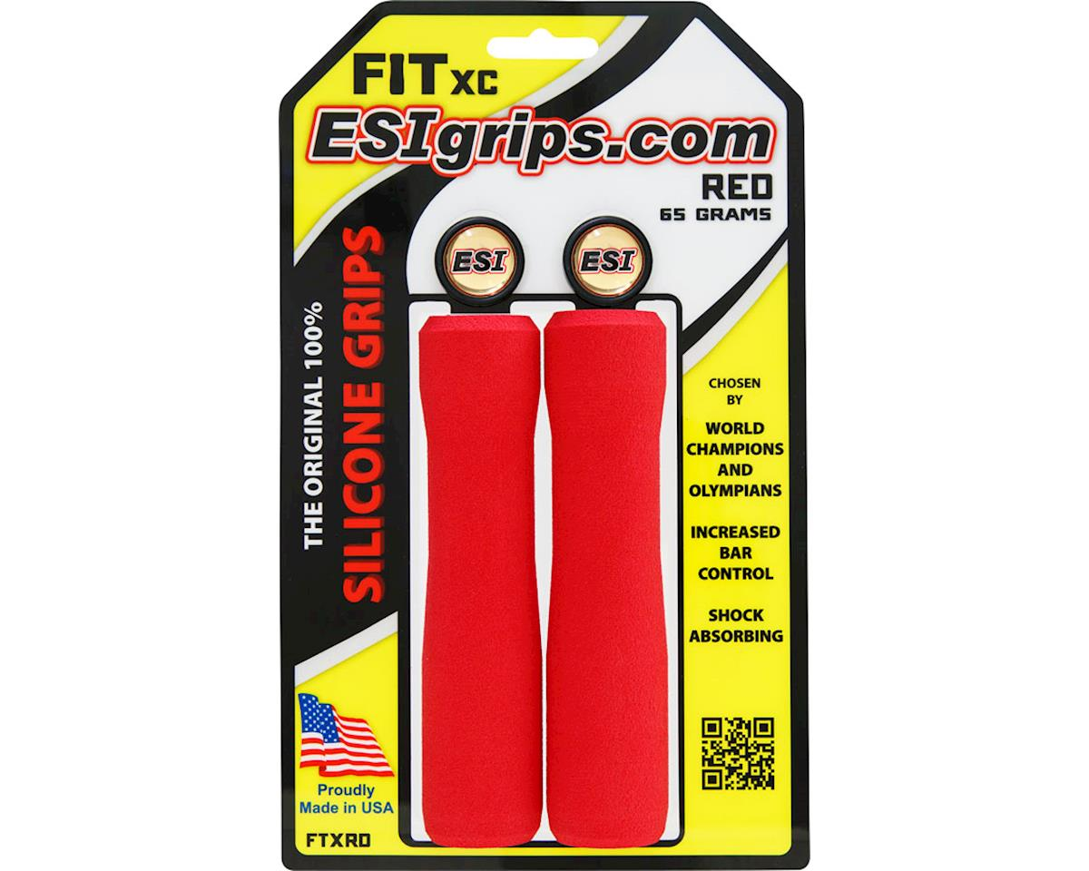 ESI FIT XC Grips (Red)
