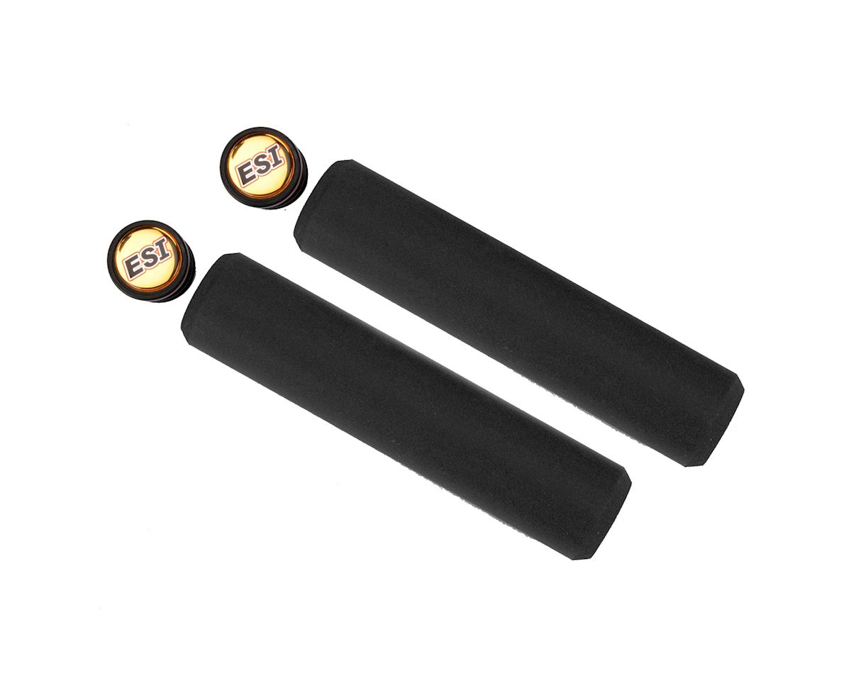 Chunky Silicone Grips (Black) (32mm)