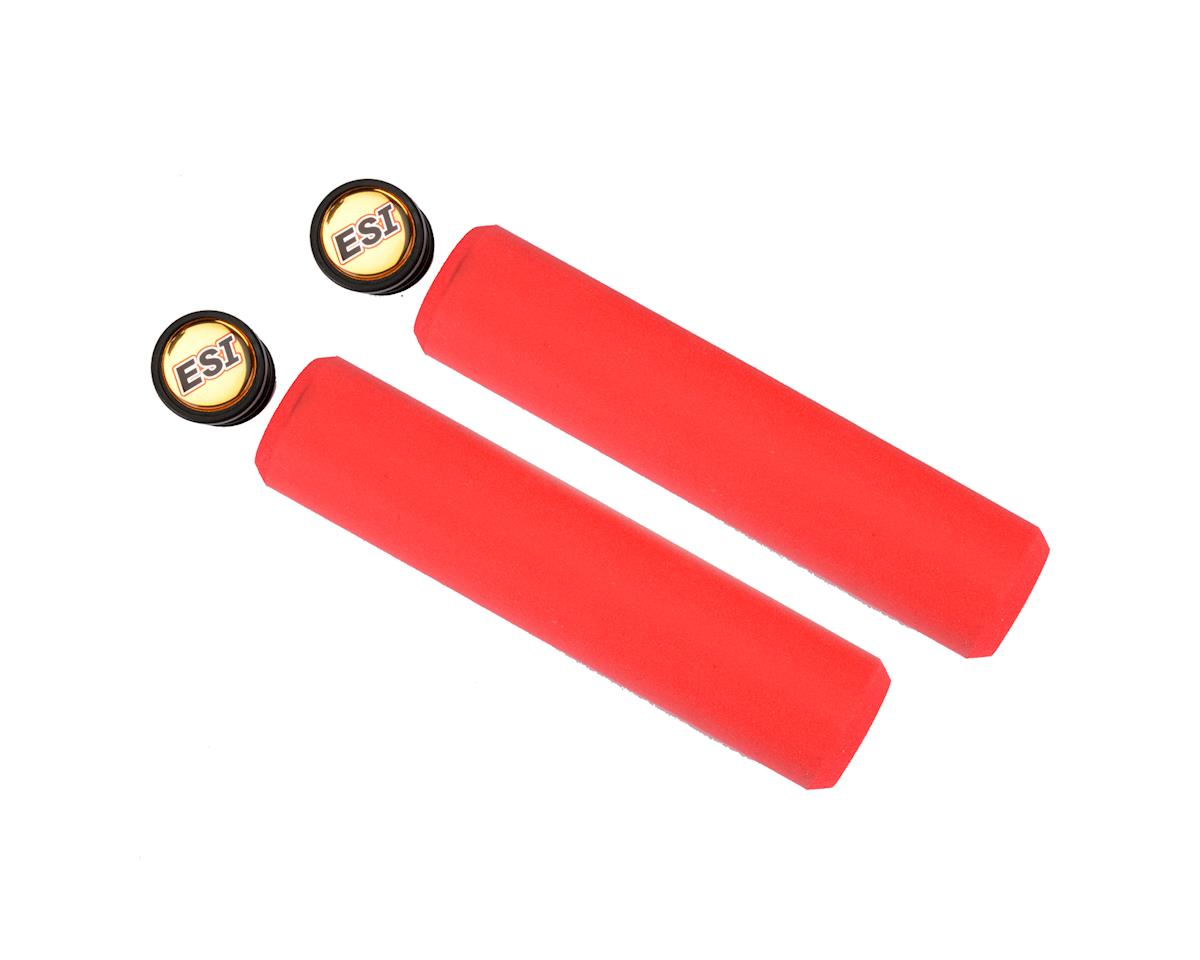 Chunky Silicone Grips (Red) (32mm)