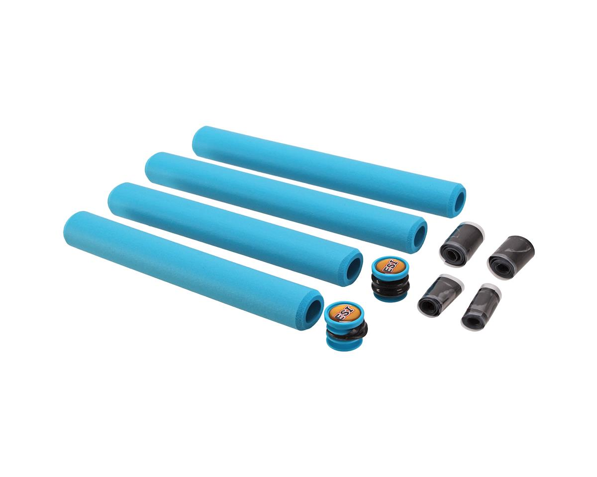 Road Unwrapped Silicone Grips (Aqua)