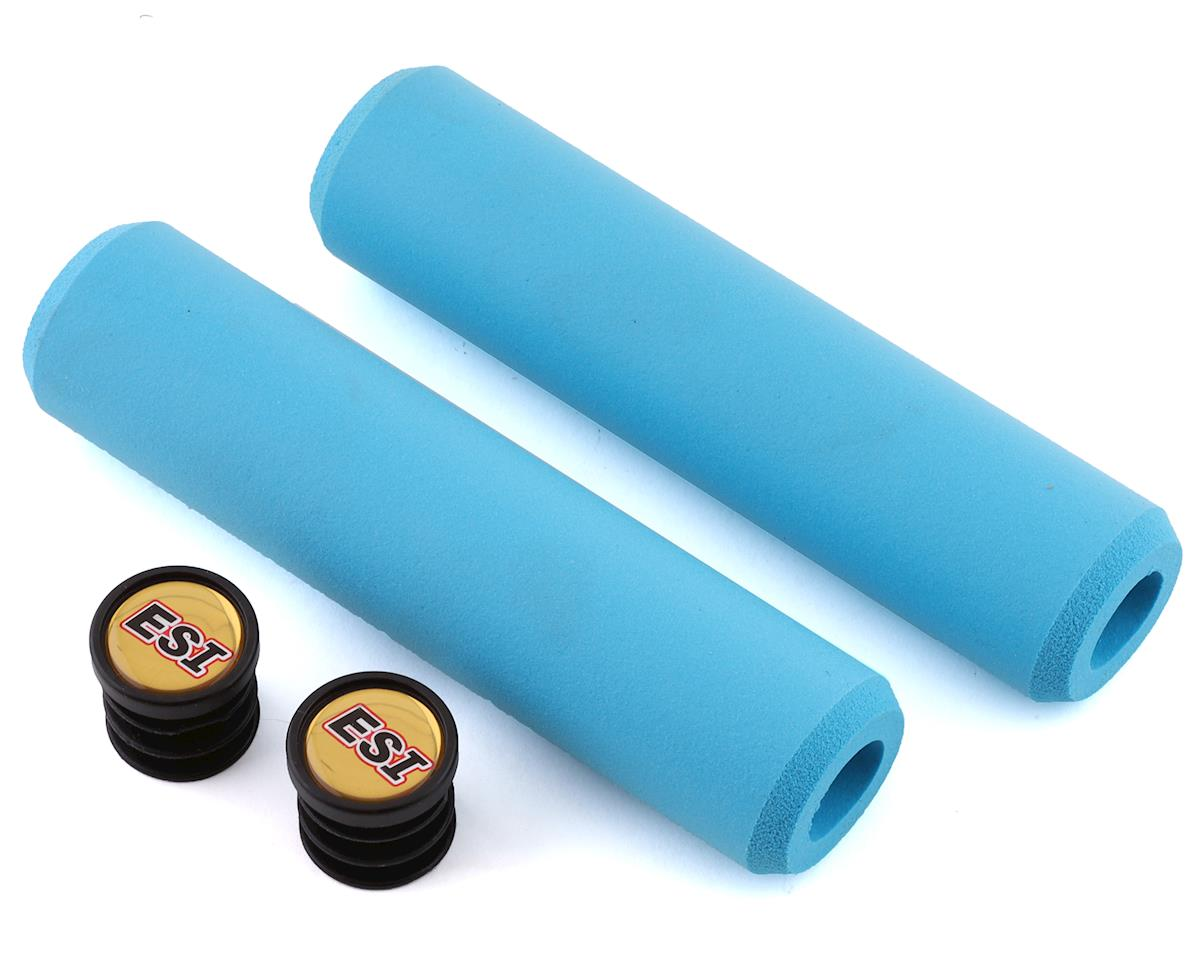 Extra Chunky Silicone Grips (Aqua) (34mm)