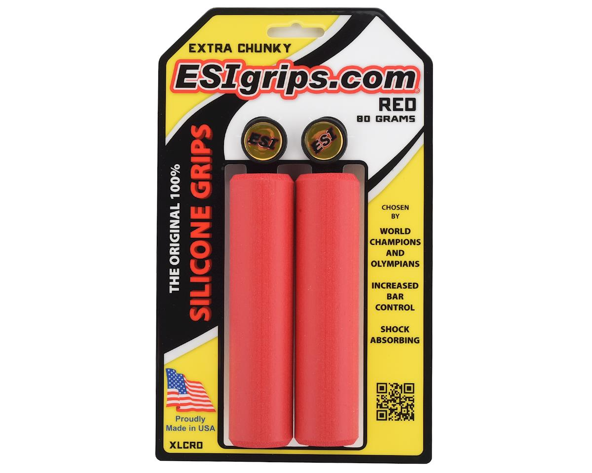 Esi Grips Extra Chunky Silicone Grips (Red) (34mm)