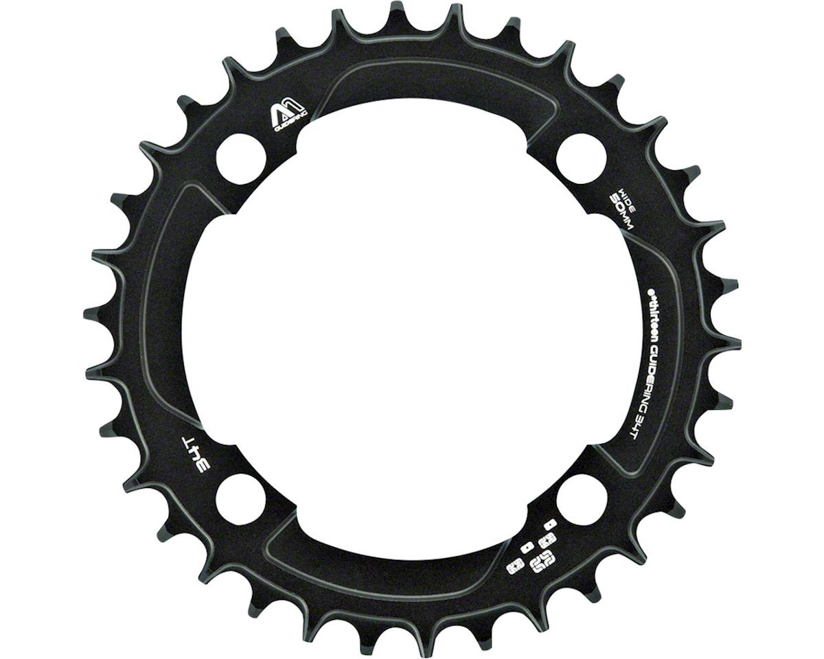 M Profile 38T 104 BCD Narrow Wide Chainring (Black) (10/11 Speed)
