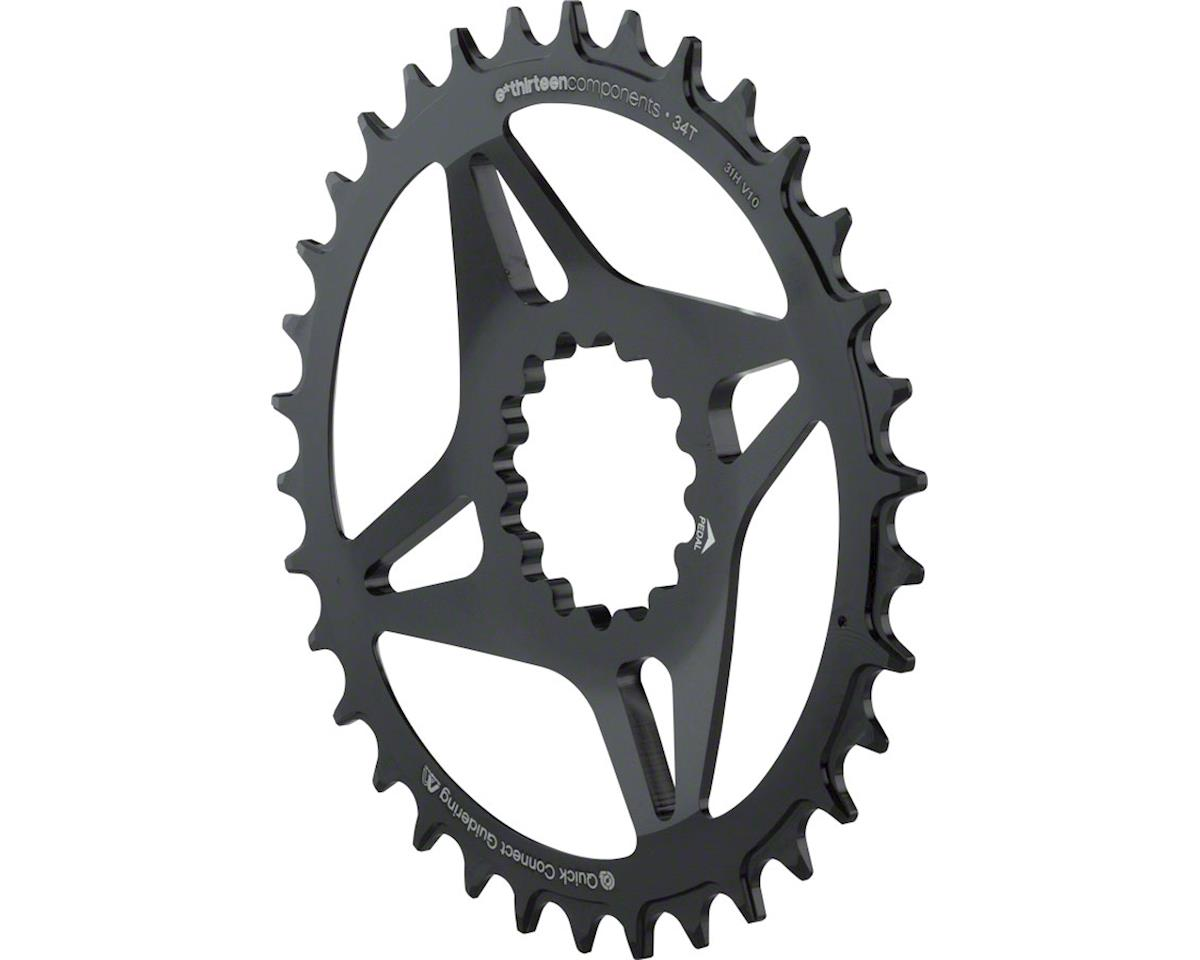 Direct Mount M Profile 34T Narrow Wide Chainring (Black)