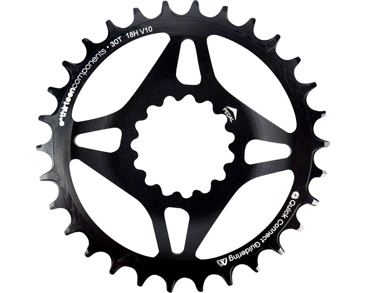 E*Thirteen Direct Mount M Profile 30T Narrow Wide Boost Chainring (Black)