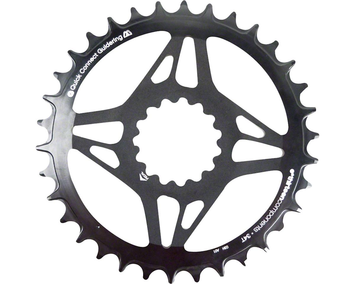 Direct Mount M Profile 34T Narrow Wide Boost Chainring (Black)