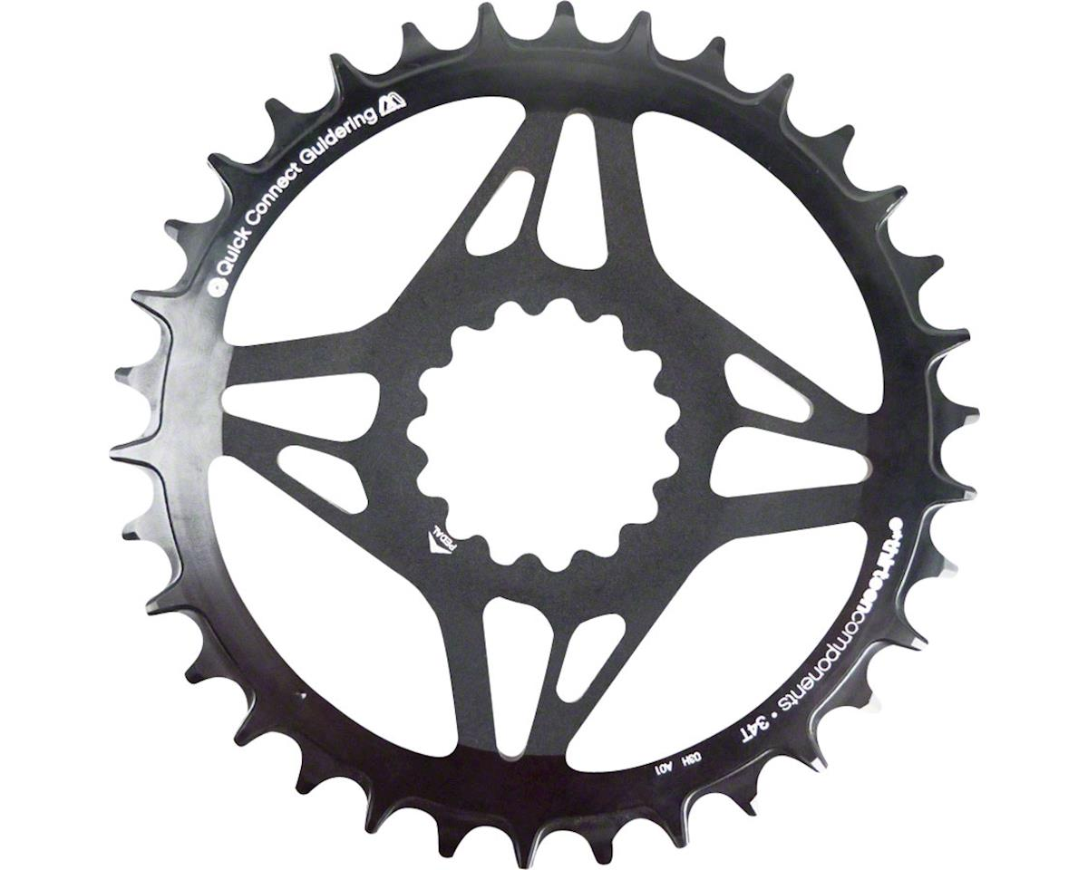 E*Thirteen Direct Mount M Profile 36T Narrow Wide Boost Chainring (Black)