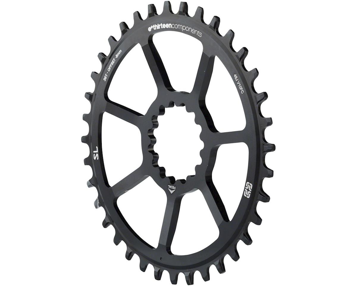 e*thirteen Direct Mount SL Guide Ring, 8/9/10/11/12 speed, 36t Narrow Wide, Blac