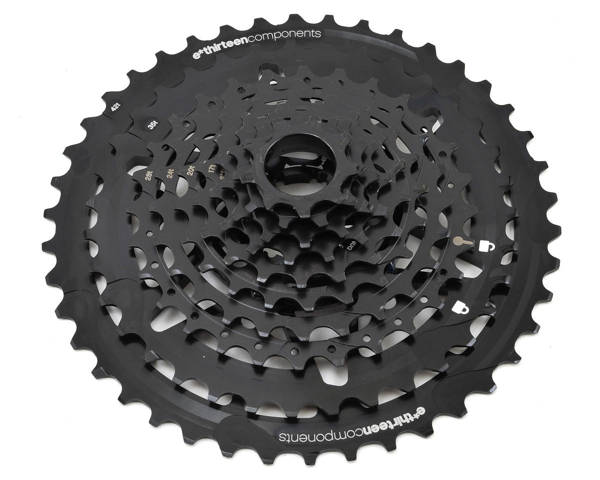 E*Thirteen TRS + 10 Speed Cassette (Black) (9-42T)