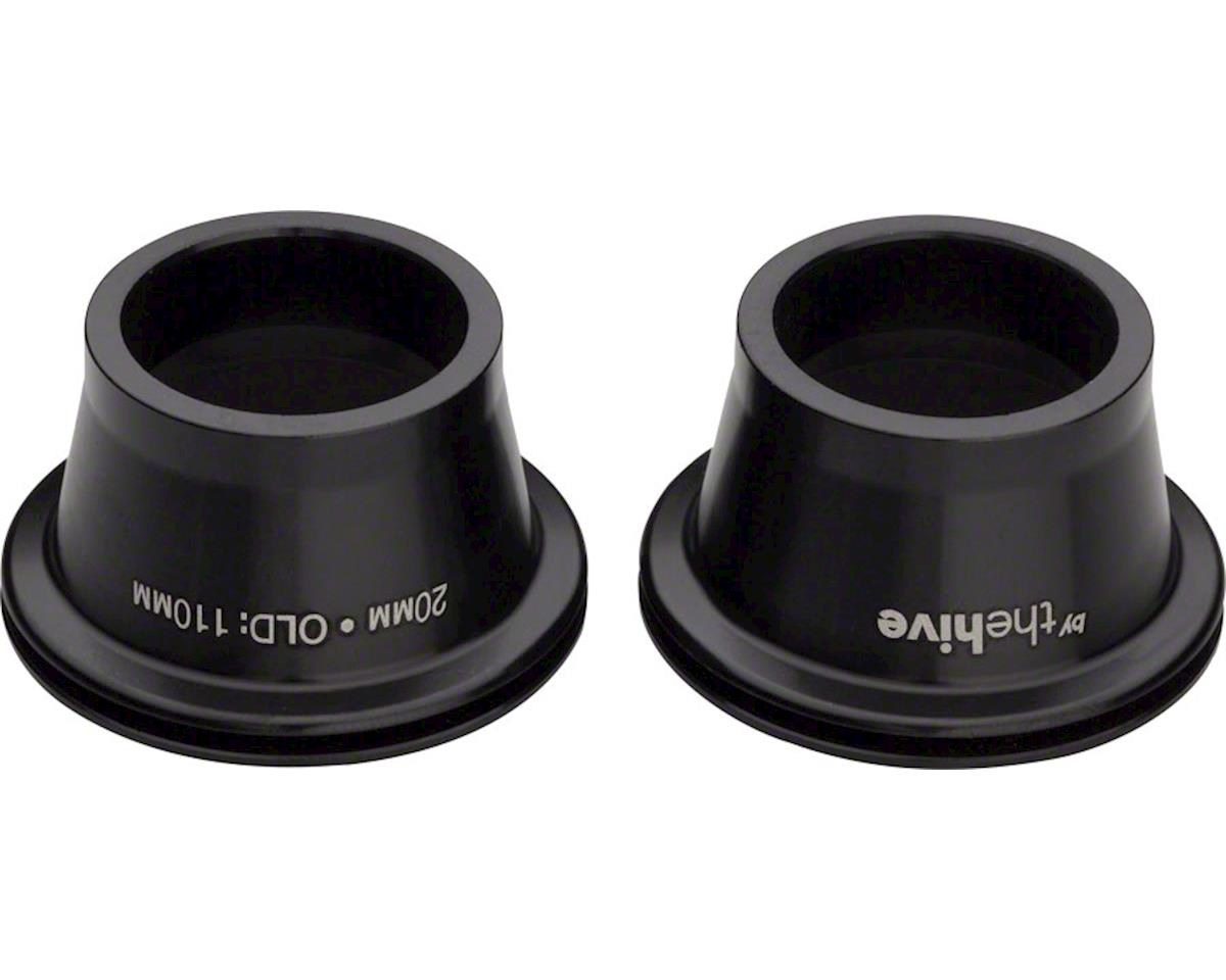e*thirteen 20mm Endcap Set Fits TRS, LG1, and Chub DH Front Hubs, Black