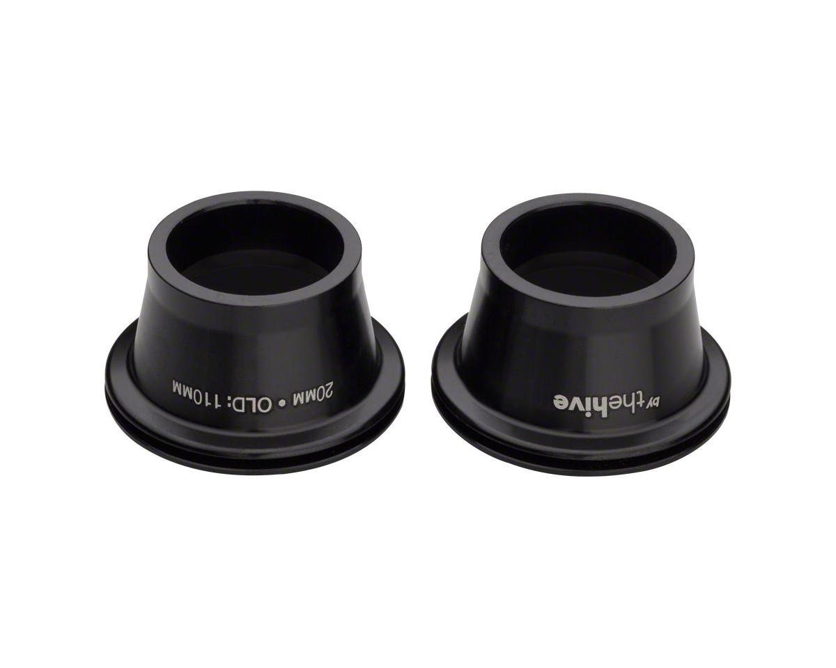 e*thirteen 20mm Endcap Set Fits TRS, LG1, and Chub DH Front Hubs, Black