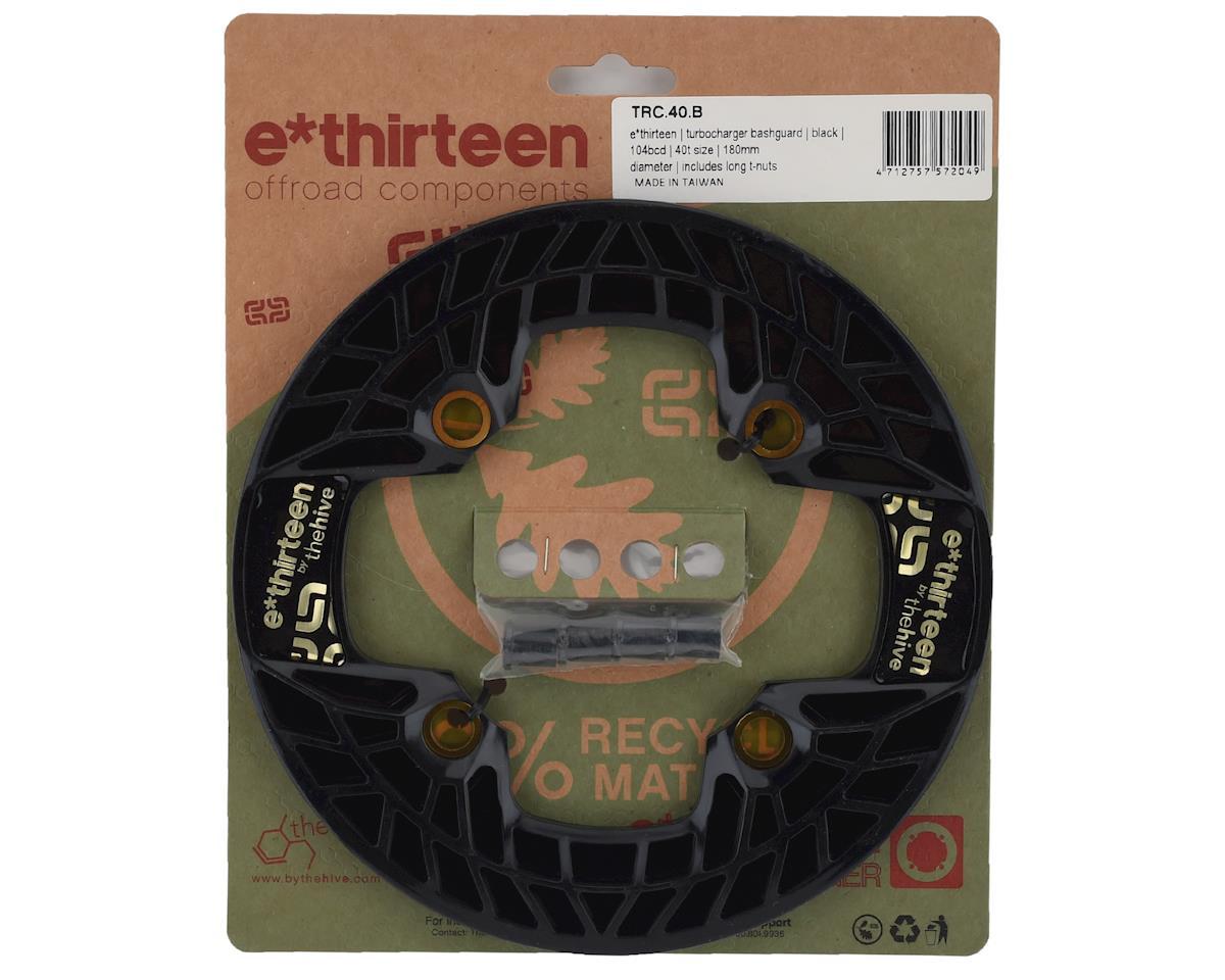 E*Thirteen Turbocharger Bashguard (Black) (40T)