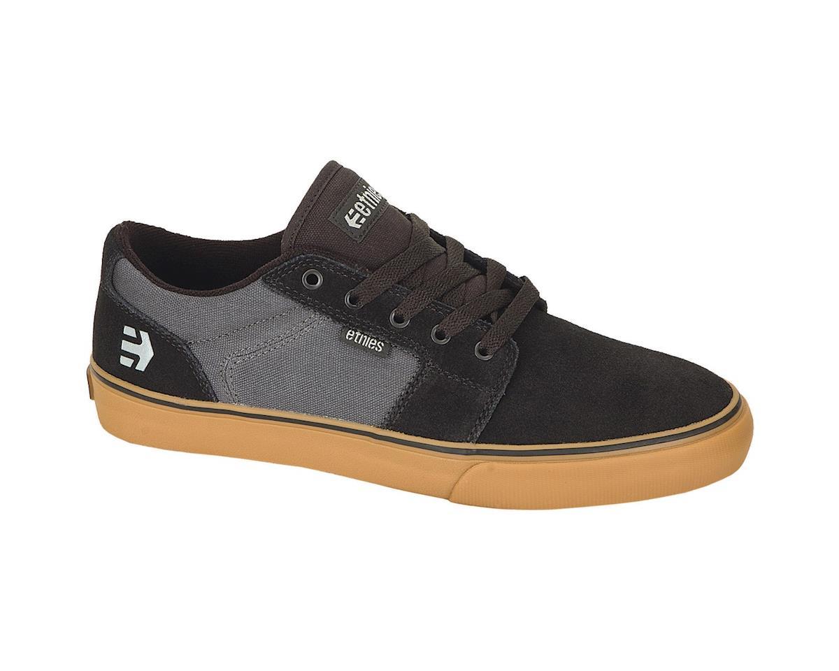 Etnies Barge LS Shoes (Black/Dark Gray/Gum) (5)