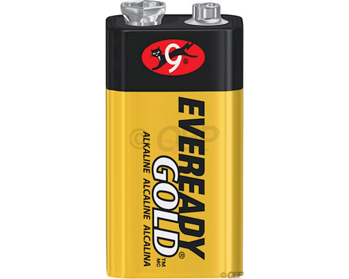 Eveready Gold 9V Alkaline Battery: Each