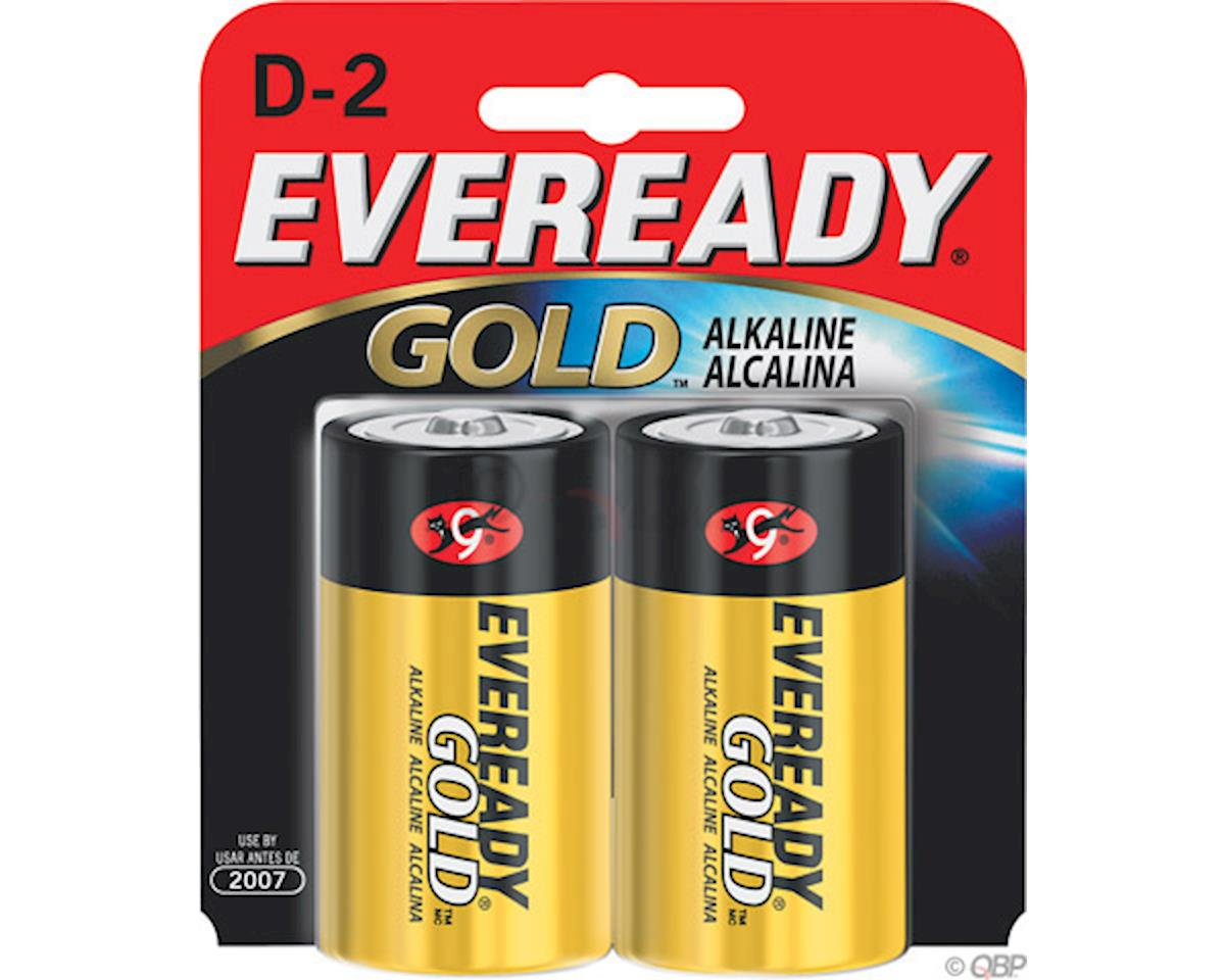Eveready Gold D Alkaline Battery: 2-Pack