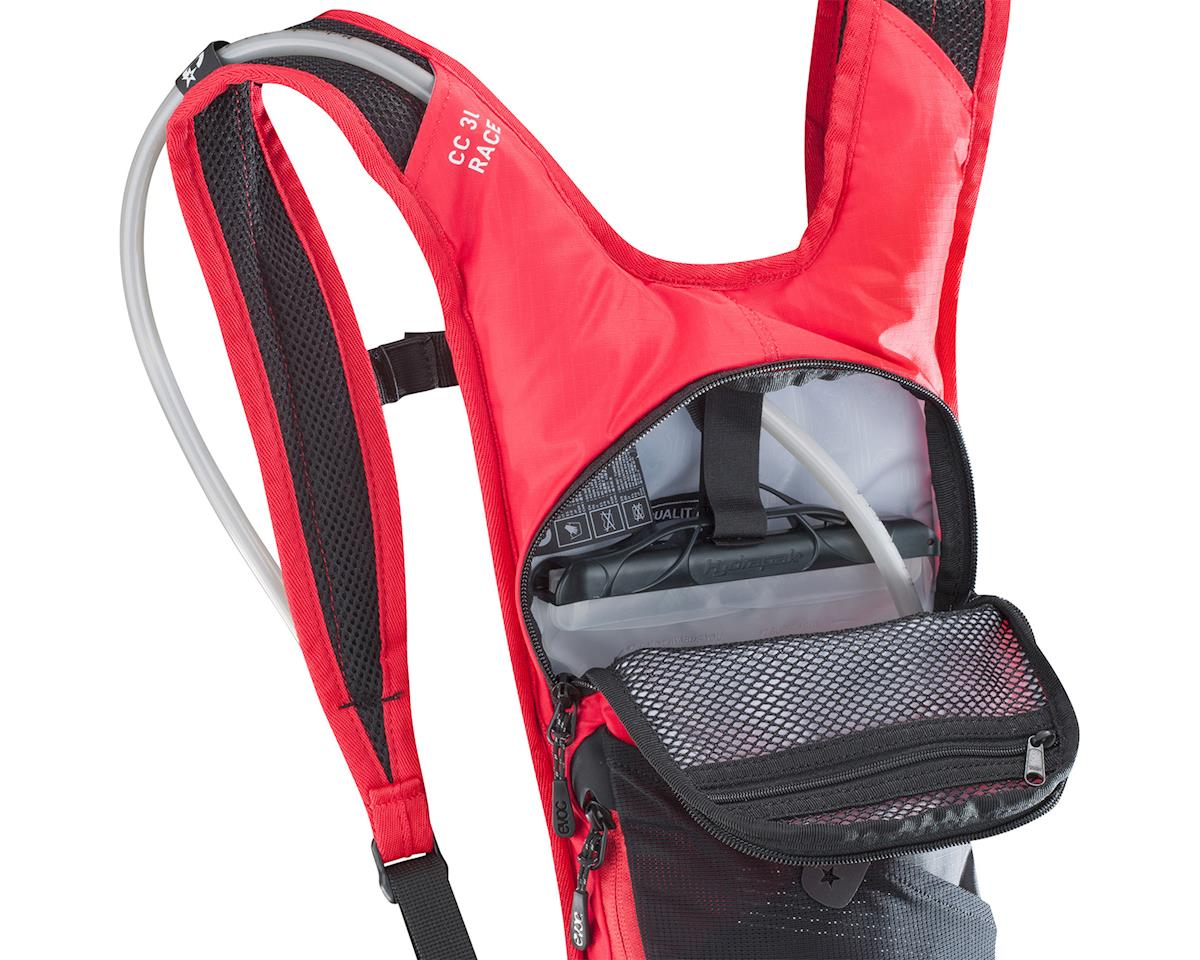 EVOC CC 3L Race Lite Performance Backpack (Red/Black)