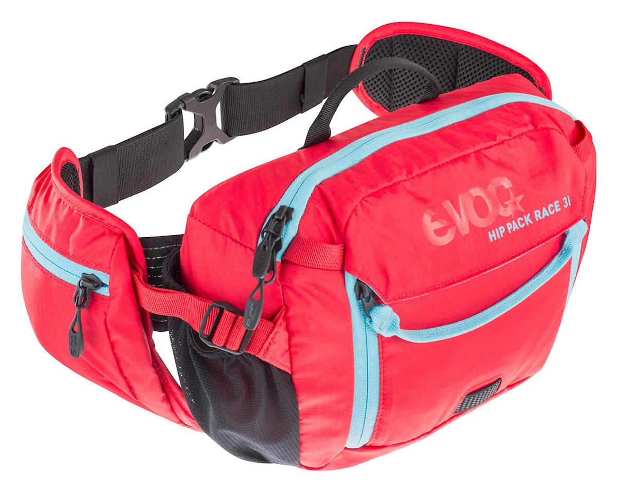 EVOC Hip Pack Race (3L with 1.5L reservoir) (Red/Neon Blue)