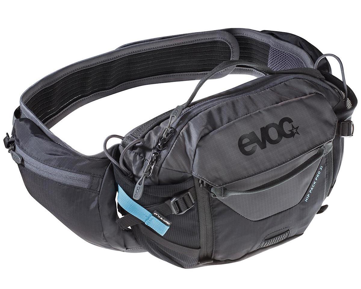 EVOC Hip Pack Pro Hydration Pack (Black/Carbon Grey) (100oz/3L)