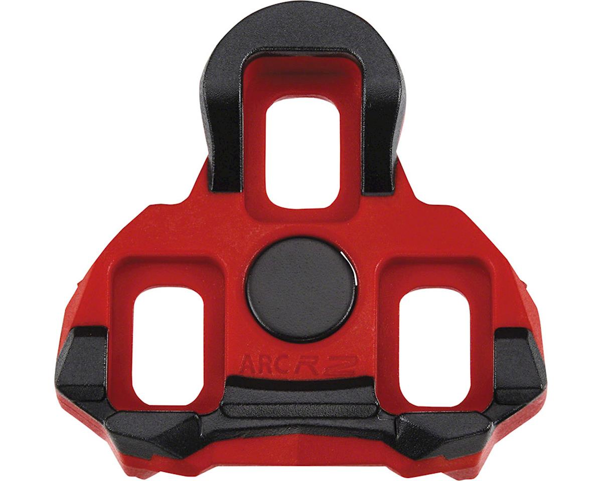 ARC R2 Look Keo Cleats, 6 Degree Red