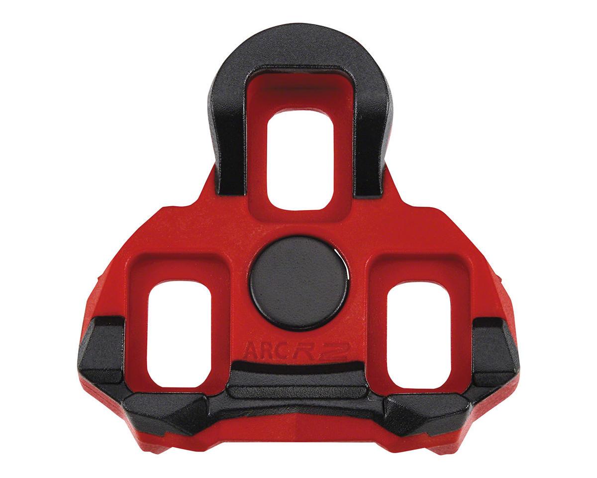 Exustar ARC R2 Look Keo Cleats, 6 Degree Red