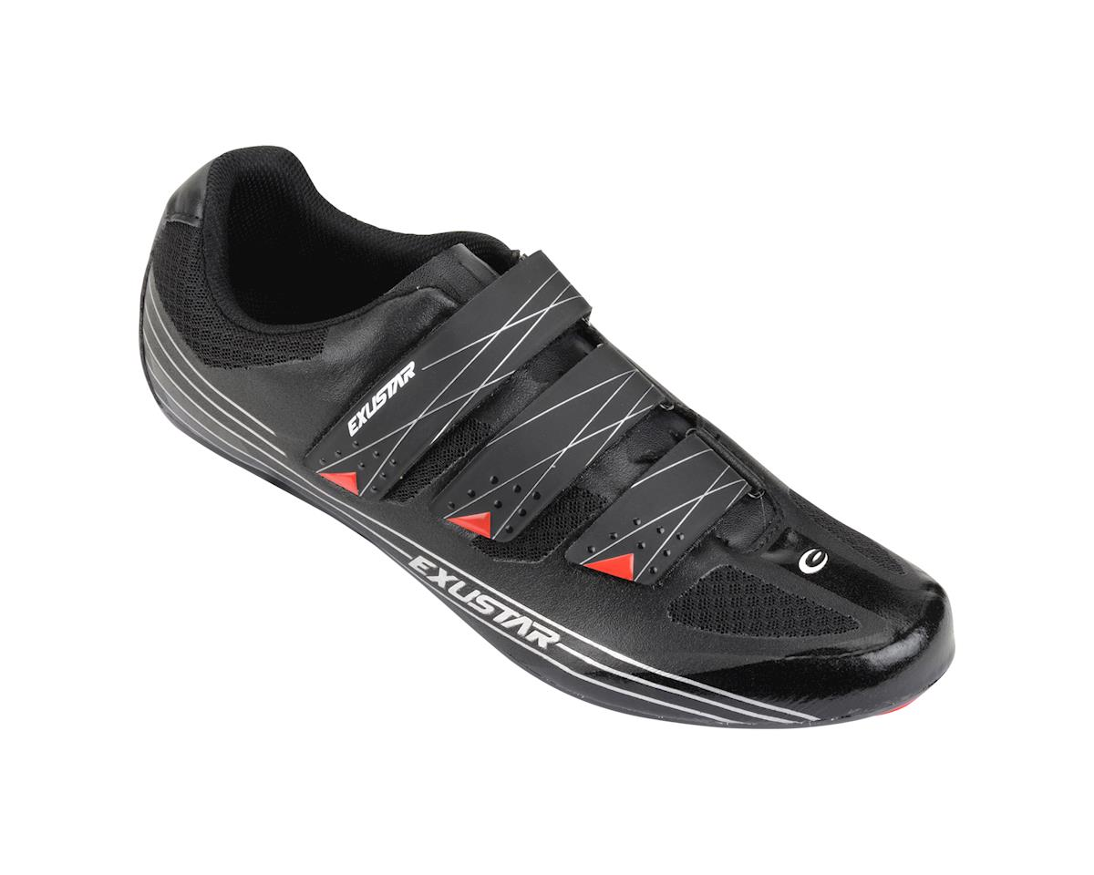 Image 1 for Exustar SR-463 Road Shoes (Black)