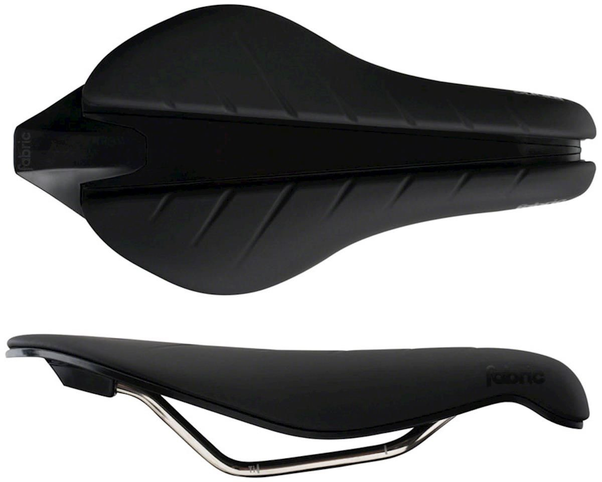 Fabric Tri Race Flat Saddle (Black)