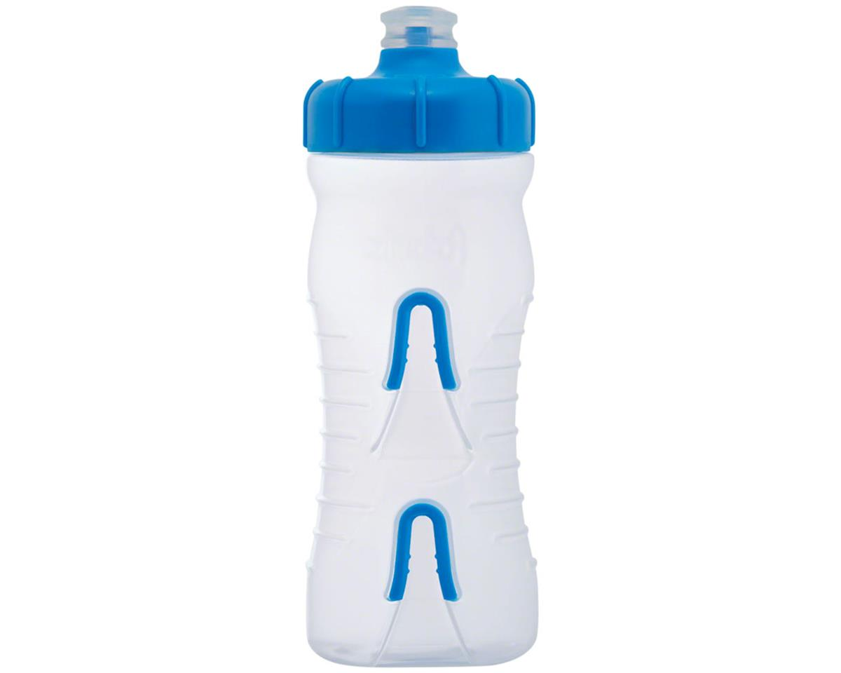 Fabric Cageless Water Bottle (Clear/Blue) (600ml)