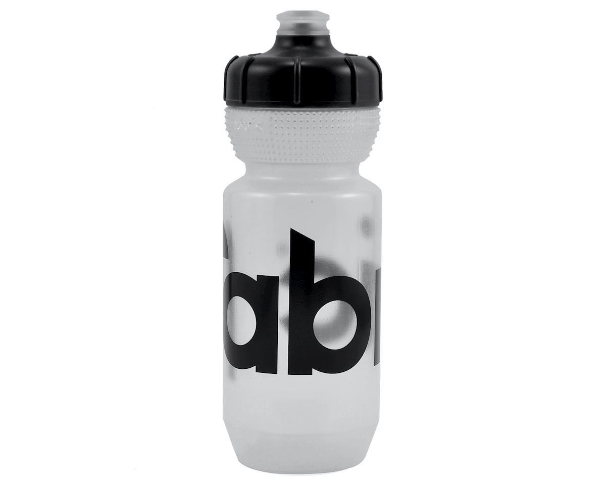 Fabric Gripper Water Bottle (Clear/Black) (600ml)
