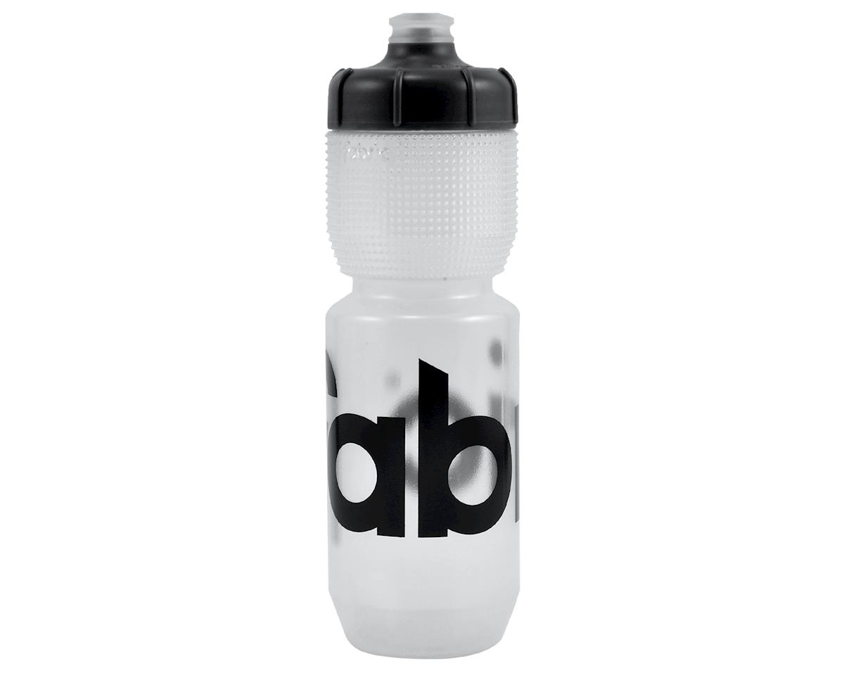Fabric Gripper Water Bottle (Clear/Black) (750ml)