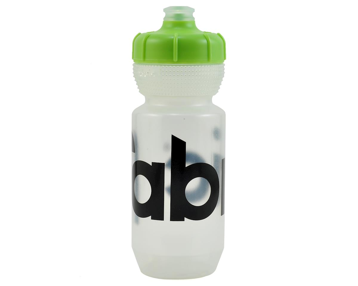 Fabric Gripper Water Bottle (Clear/Green) (600ml)