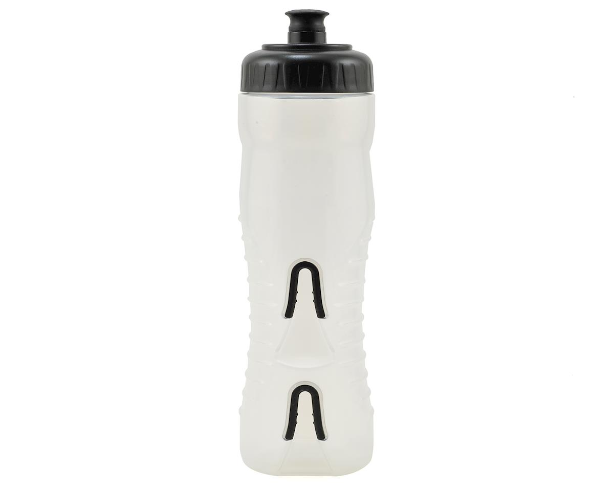 Fabric Cageless Water Bottle (750ml) (Clear/Black)
