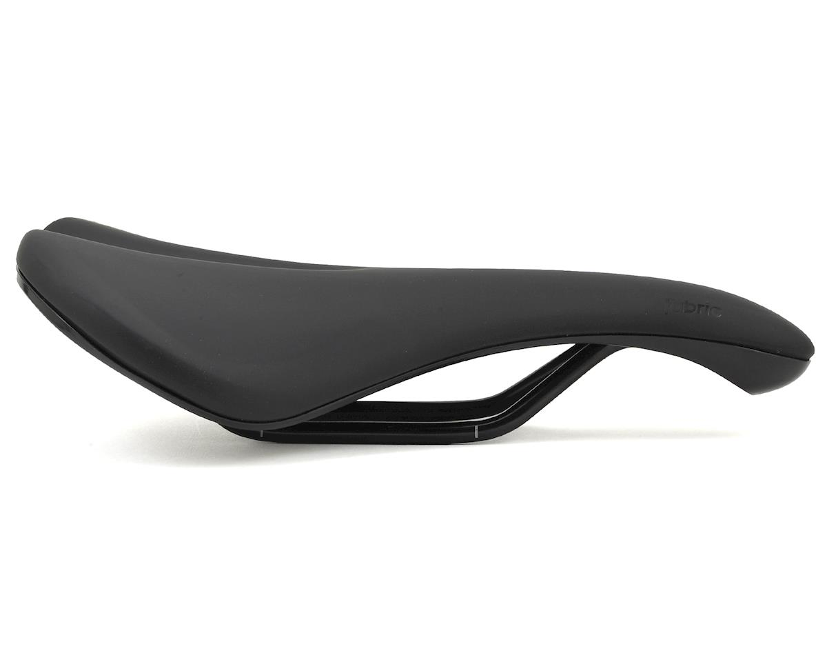 Fabric Scoop Gel Elite Saddle (Black/Black)