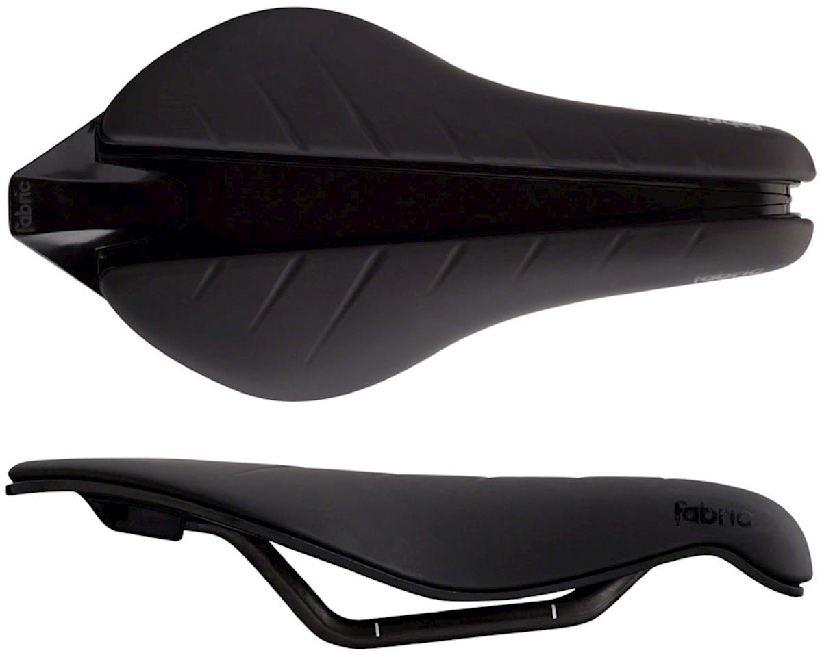 Fabric Tri Pro Flat Saddle (Black)