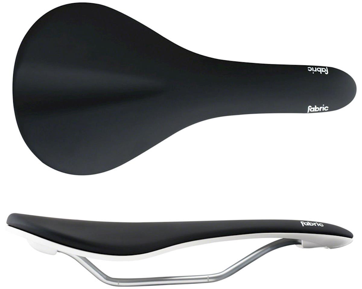 Fabric Scoop Elite Flat Saddle (Black/White)