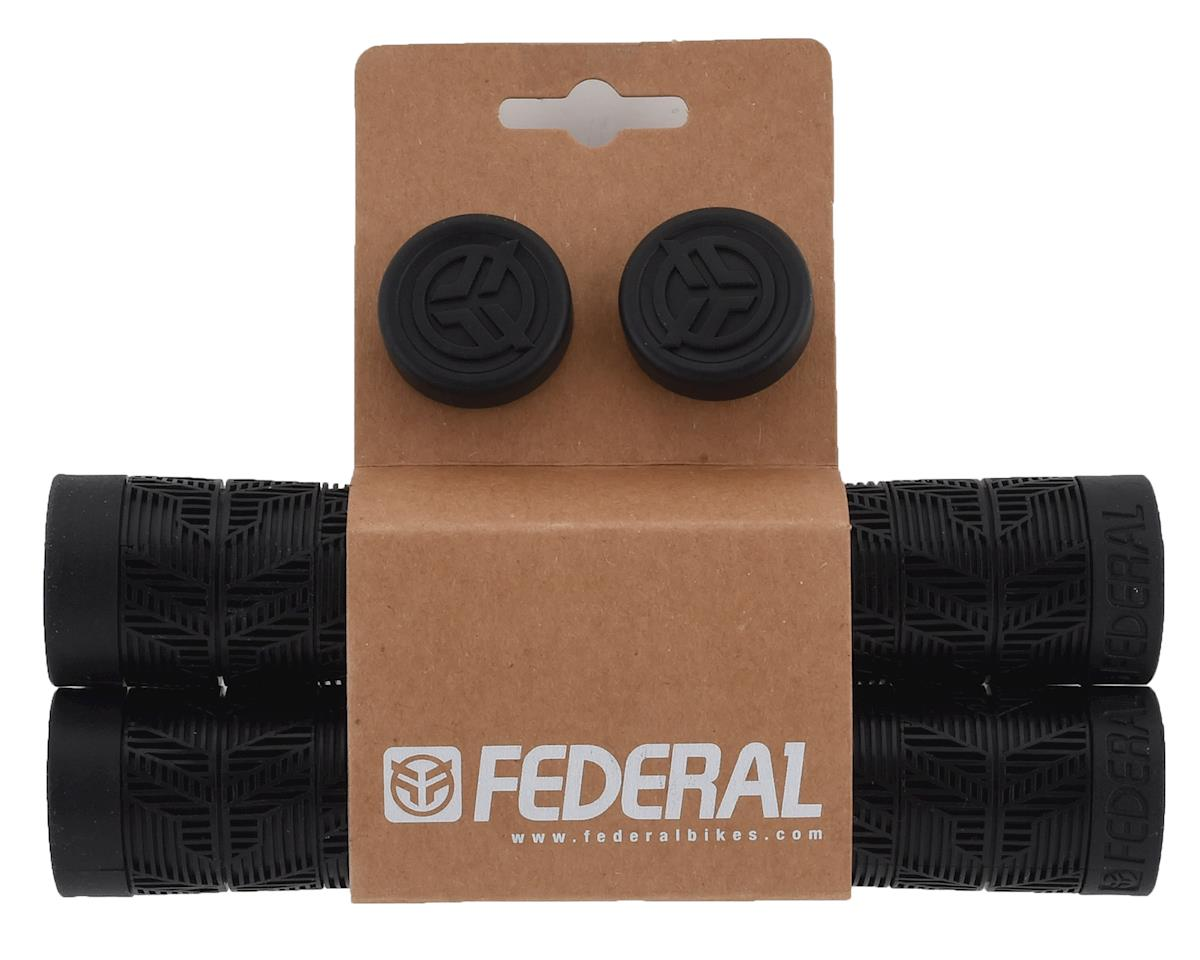 Federal Bikes Command Flangeless Grips (Pair) (Black)