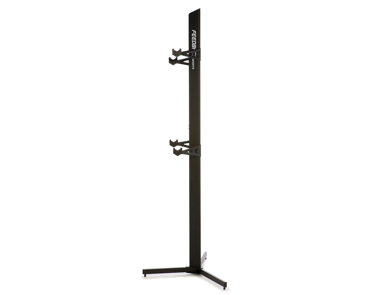 Feedback Sports Velo Cache (2-Bike Storage Rack) Black
