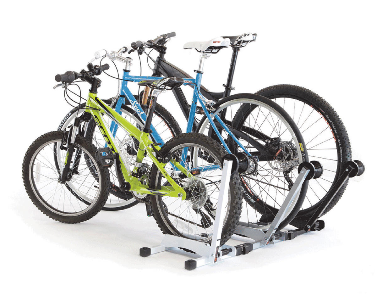 Feedback Sports RAKK Bicycle Storage Stand (Silver)